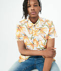 aeropostale mens bird-of-paradise woven shirt