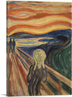 ARTCANVAS The Scream 1910 Canvas Art Print by Edvard Munch