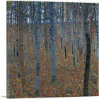 ARTCANVAS Beech Grove I 1902 Canvas Art Print by Gustav Klimt