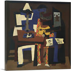 ARTCANVAS Three Musicians - Fontainebleau 1921 Canvas Art Print by Pablo Picasso