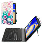 Bluetooth Keyboard Folio Case Cover Stand For Samsung Galaxy Tab S4 10.5 2018
