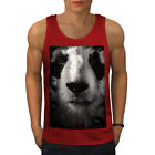 Wellcoda Panda Face Cute Mens Tank Top, Beautiful Active Sports Shirt
