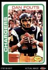1978 Topps #499 Dan Fouts Chargers NM $3.25 USD on eBay