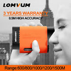 LOMVUM Handheld Laser Distance Meter Range Finder Hunting Golf Telescope Speed