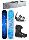 2019 FLOW STAR 144cm Women's Snowboard+Flow Bindings+Flow BOA LTD Boots+BAG NEW
