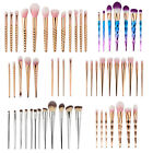 Pro Cosmetic Makeup Brush Foundation Eyeshadow Lip Powder Blush Starter Kit Tool