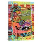 iCanvas 'Tomato Soup (A Homage To Steve Kaufman)' by Dean Russo Canvas Print