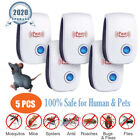 6x Upgraded Ultrasonic Pest Repeller Control Bed Bugs Fleas Spiders Rats Killer