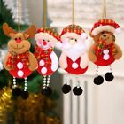 Lovely Christmas Santa Claus Modern Ornaments Individual Tree Hanging Mini Doll