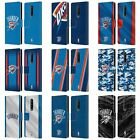 NBA OKLAHOMA CITY THUNDER LEATHER BOOK WALLET CASE COVER FOR BLACKBERRY ONEPLUS on eBay