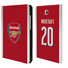 ARSENAL FC 2017/18 PLAYERS HOME KIT 1 LEATHER BOOK CASE FOR SAMSUNG TABLETS