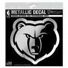 "Memphis Grizzlies 6"" Silver Metallic Style Decal Sticker Vinyl Auto Basketball on eBay"