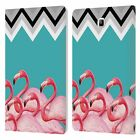 MARK ASHKENAZI FLAMINGO LEATHER BOOK WALLET CASE FOR SAMSUNG GALAXY TABLETS