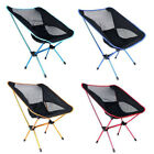 Mini Portable Folding Outdoor Camping Fishing Picnic BBQ Beach Chair Seat 4 Cols