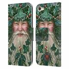 OFFICIAL ANNE STOKES YULE LEATHER BOOK WALLET CASE FOR APPLE iPOD TOUCH MP3