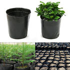 100 Pcs Plastic Nursery Pot Seedlings Flower Plant Container Garden Seed Lot