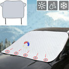 Car Windshield Snow Ice Cover Dust Frost Sunshade Magnetic Mirror Protector RH
