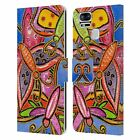 OFFICIAL WYANNE BUGS LEATHER BOOK WALLET CASE COVER FOR ASUS ZENFONE PHONES