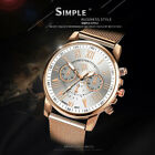 Women Ladies Watch Stainless Steel Analog Quartz Dress Bracelet Wrist Watch Gift image