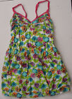 NEW Authentic Holliester Sun Summer Tiered Dress Top Green Floral Womens Sz S