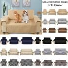 Внешний вид - 1/2/3 Seat Waterproof Pet Sofa Couch Cover Furniture Protector Mat Multi-Color