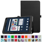 Case for Barnes & Noble Nook 10.1 BNTV650 Tablet Vegan Leather Folio Stand Cover