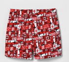 Star Wars All Over Print Rebel Alliance  Men's Boxer Briefs Red Sz S-M  NWT