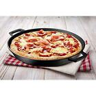 11/12 Inch Cast Iron Pizza Pan Skillet Cooking Baking Grilling High Quality @