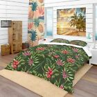 Designart - Floral Pattern - Tropical Duvet Cover Set image