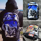 Unisex Outdoor Backpack Snow Mountain/MapTravel Backpack Bag Hiking School Bag