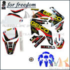 Motorcycle Pit Dirt Bike 3M Graphics Decals & Plastic body kit For Honda CRF50