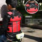 Motorcycle Baby Kids Safety Seat Strap Belt Harness Reflective Protection Buckle