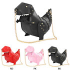 Women Girls 3D T-Rex Triceratops Dinosaur Rivet Crossbody Shoulder Bag Handbag