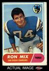 1968 Topps #89 Ron Mix Chargers VG $1.25 USD on eBay