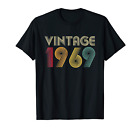 50th Birthday Gift Vintage 1969 T-Shirt Classic Men Women image