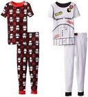 Star Wars Stormtrooper 4 PC Short Sleeve Tight Fit Cotton Pajama Set Boy Size 6 $29.99 USD on eBay