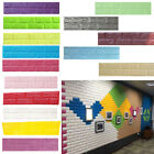 3d Brick Wall Sticker Self-adhesive Panel Decal Living Home Room Wall Decors Gw