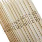 5 PCs UK 0-14 15cm long Bamboo Knitting Needles Natural Double Pointed 2-10mm
