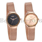 Women Girls Small Dial Japanese Movement Stainless Steel Quartz Wrist Watch image
