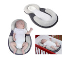 Portable Baby Pillow Sleep Cushion Pad Newborn Crib Nest Bed Mattress Breathable