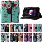 """Quotes Heavy-Duty Wallet Stand Case Cover for LG K10 / K10+ Plus K30 2018 5.3"""""""