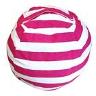 Home Baby Kid Plush Toys Storage Bag Stuffed Animal Doll Bean-Bag Soft Chair US