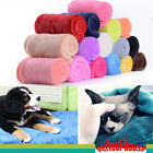 50*70cm Soft Warm Solid Warm Flannel Blanket Throw Rug Sofa Bedding for Baby/Pet image
