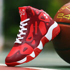 Boy's Basketball Boots Lace Up Shoes Sneakers Sports Big Kids Youth Athletic