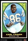 1967 Topps #75 Earl Faison Dolphins Indiana 5 - EX $22.5 USD on eBay