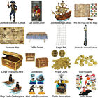 PIRATE THEME DECORATIONS - PARTYWARE COMPLETE COLLECTION