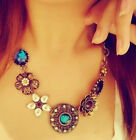 Sweater Alloy Statement Tassels Necklace Long Chain Pendant Ladies Women Jewelry