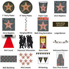 AWARDS NIGHT HOLLYWOOD STAR THEME DECORATIONS - PARTYWARE COMPLETE COLLECTION