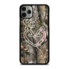 CAMO BROWNING LOVE iPhone 5/5S/SE 6/6S 7 8 Plus X/XS Max XR Case Cover
