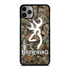CAMO BROWNING iPhone 5/5S/SE 6/6S 7 8 Plus X/XS Max XR Case Cover